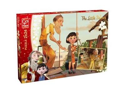 The Little Prince, 2 Discovery Puzzles, 24 pieces each  -