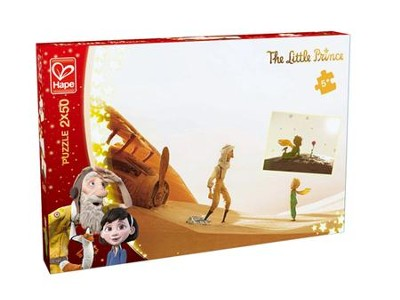 The Little Prince, 2 Loving Friends Puzzles, 50 pieces each  -