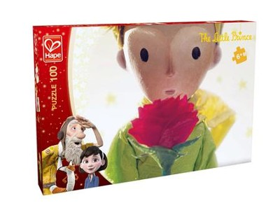 The Little Prince and The Rose Puzzle, 100 pieces  -