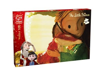 The Little Prince and The Fox Puzzle, 100 pieces  -