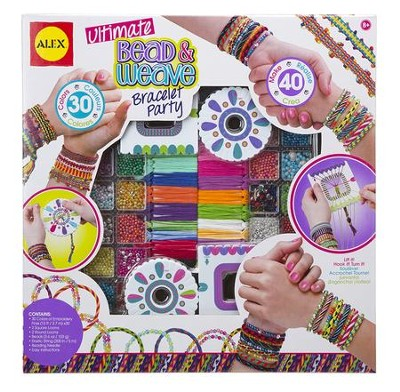 Ultimate Bead and Weave Bracelet Party   -