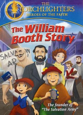 The Torchlighters Series: The William Booth Story, DVD   -