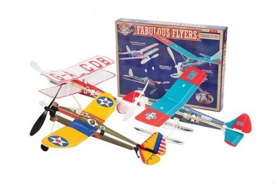 Fabulous Flyer Kit, with 3 Classic Model Aircrafts  -