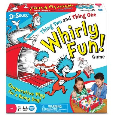 Dr. Seuss, Thing Two and Thing One Whirly Fun Game  -