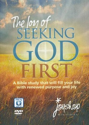 The Joy of Seeking God First, DVD   -