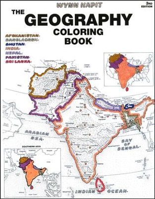 The Geography Coloring Book: Wynn Kapit: 9780131014725 ...