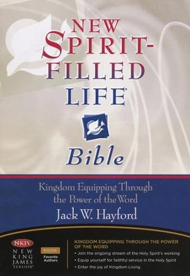 NKJV New Spirit Filled Life Bible, Bonded leather, Burgundy   -     By: Bible