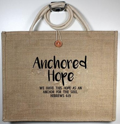Anchored Hope, Tote Bag  -