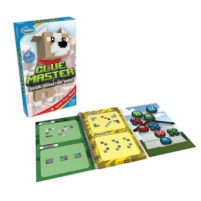 Clue Master, Logical Deduction Game  -