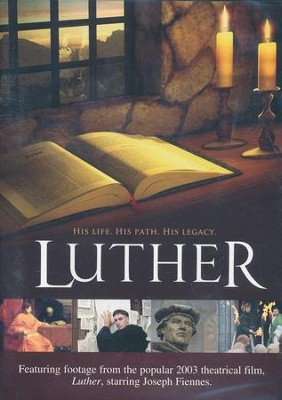 Luther: His Life, His Path, His Legacy - DVD   -