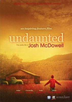 Undaunted: The Early Life of Josh McDowell, DVD   -