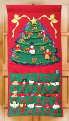 Christmas Tree Advent Calendar  -