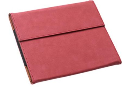 iPad Mini Case, Faux Leather, Red  -