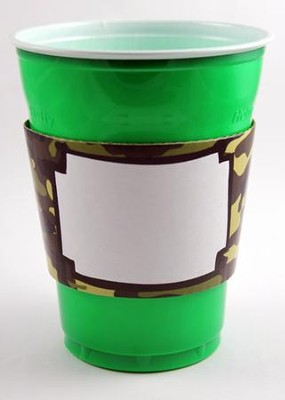 Camo Party Sleeves, Green  -