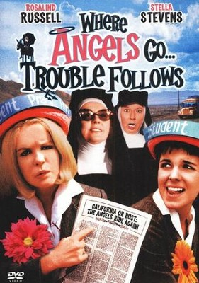 Where Angels Go, Trouble Follows (1968), DVD   -