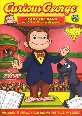 Curious George Leads the Band and Other Musical Mayhem! DVD   -