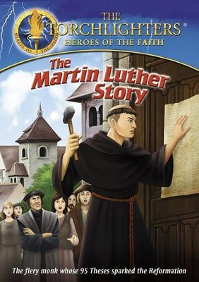The Torchlighters Series: Martin Luther, DVD   -