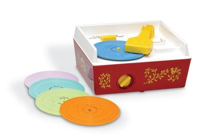 Fisher Price Music Box Record Player   -