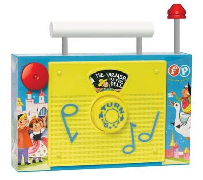 Fisher Price TV Radio   -