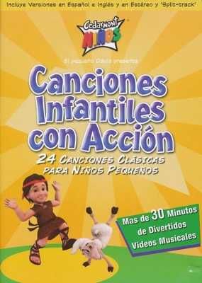 Canciones Infantiles con Acción  (Toddler Action Songs), DVD  -     By: Cedarmont Kids