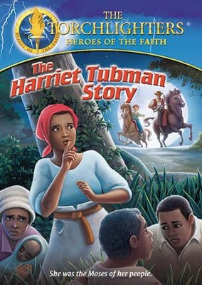 Torchlighters: The Harriet Tubman Story, DVD   -