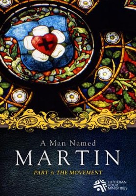 The Movement, Part 3: A Man Named Martin, DVD    -