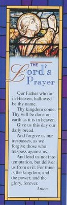 The Lord's Prayer Bookmark (Package of 25)  -