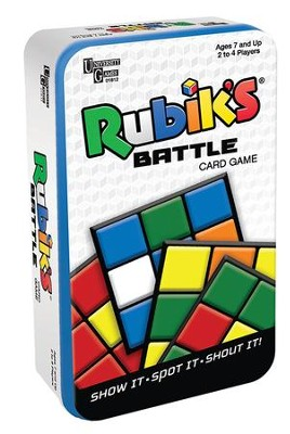 Rubik's Battle Card Game Gift Tin  -