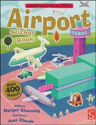 Airport Sticker Book  -     Narrated By: Jean Claude     By: Margot Channing