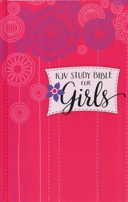 KJV Study Bible for Girls Hardcover  -