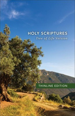 TLV Thinline Bible, Holy Scriptures, Hardcover  -