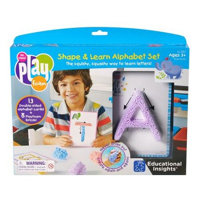 Playfoam Shape & Learn Alphabet Set  -