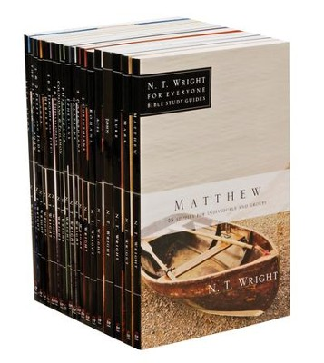 N.T. Wright for Everyone Bible Study Series--Complete New Testament in 19 Volumes  -     By: N.T. Wright