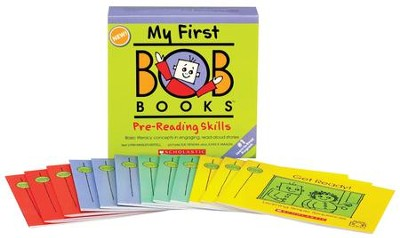 My First Bob Books: Pre-Reading Skills  -     By: Lynn Maslen Kertell