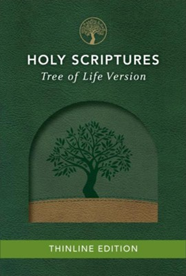TLV Thinline Bible, Holy Scriptures, Grove/Sand, Tree Design Duravella  -
