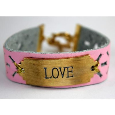 Love Bracelet, with Cross  -