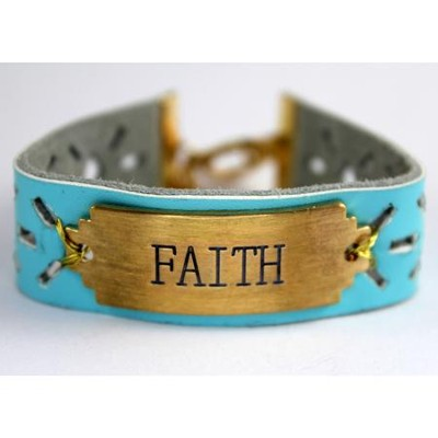 Faith Bracelet, with Cross  -