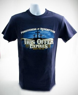 This Offer Expires When You Do, Shirt, Navy, Large  -