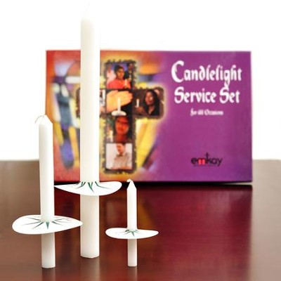 Complete Candlelight Service Set for 125 People   -