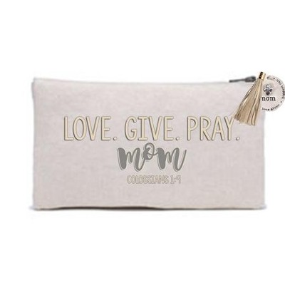 Love Give Pray Mom Everything Bag  -