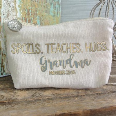 Spoils Teaches Hugs Grandma Everything Bag  -