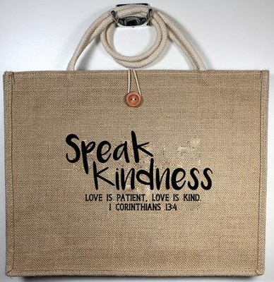 Speak Kindness Tote Bag   -