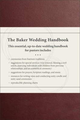 The Baker Wedding Handbook, updated: Resources for Pastors  -     By: Paul E. Engle