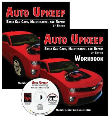 Auto Upkeep: Basic Car Care, Maintenance, and Repair Paperback Homeschool Kit (3rd Edition)  -     By: Michael E. Gray, Linda E. Gray