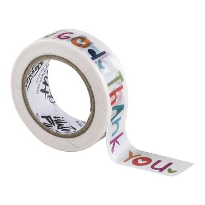 Wow God Washi Tape  -     By: Shanna Noel