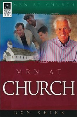 Men At Church  -     By: Don Shirk