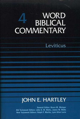 Leviticus: Word Biblical Commentary [WBC]   -     By: John E. Hartley