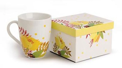 A Beautiful Life Ceramic Mug with Gift Box  -