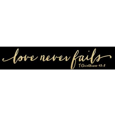 Love Never Fails, Glitter Stick  -