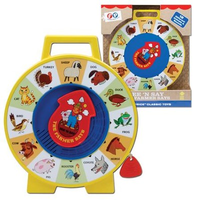 Fisher Price, See N Say  -